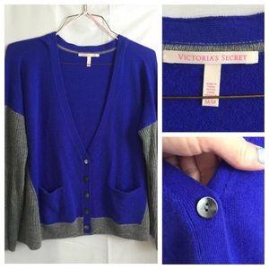 VICTORIAS SECRET Sweater 100% Cashmere V-Neck  H